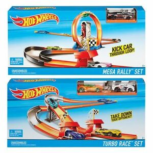NEW-Hot-Wheels-Race-Rally-Trackset-Assorted