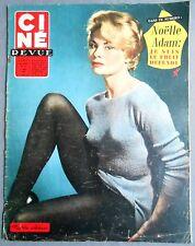 ►CINE REVUE 12/1958-NOELLE ADAM- MARTINE CAROL- MICKEY ROONEY- ANNIE GIRARDOT...