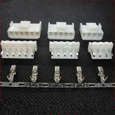 10 Sets VH 3.96mm VH3.96MM Connector 2 pins - 10 pins Housing+Base+Pins Terminal