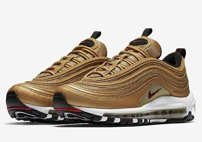Size 9.5 - Nike Air Max 97 OG QS Metallic Gold 2017 - 884421-700 ...