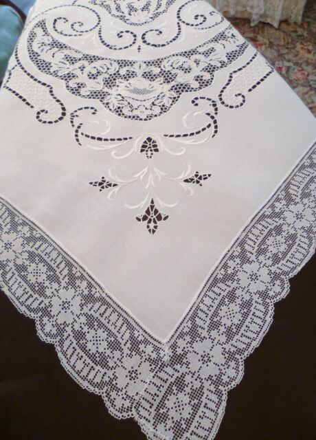 Needle Lace Table Linens, Point De Venise U0026 Others Collection On EBay!