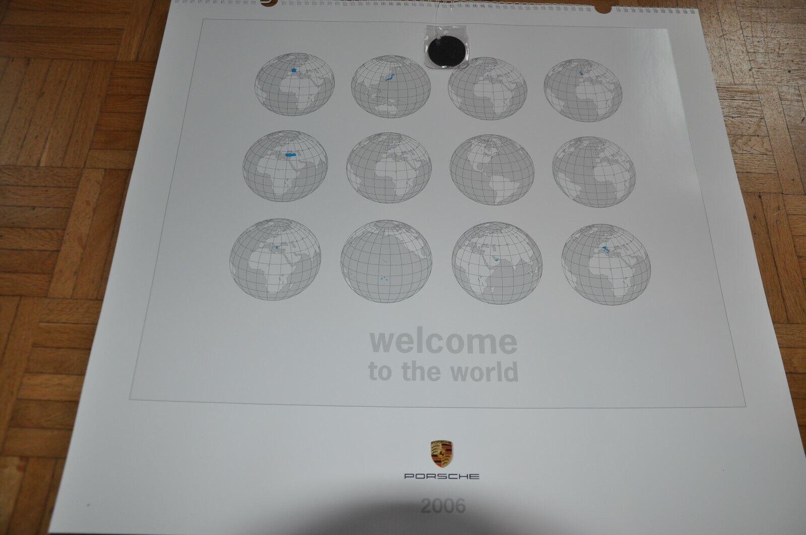 Porsche Kalender 2006 welcome to the world - NEU - unbenutzt- | Große Ausverkauf  | Ausgezeichnete Qualität  | Glücklicher Startpunkt