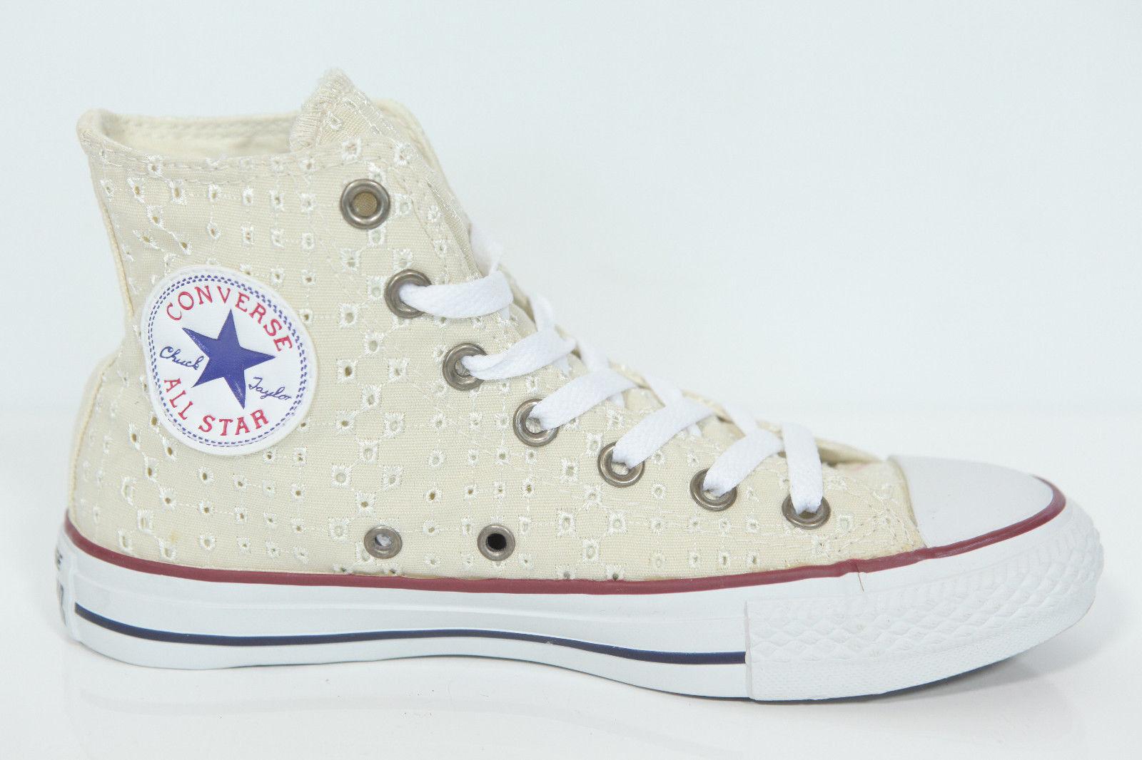 Nuevo All Star Converse Chucks Chucks Chucks Hi eyelet natural 542538c High Top cortos retro  seguro de calidad