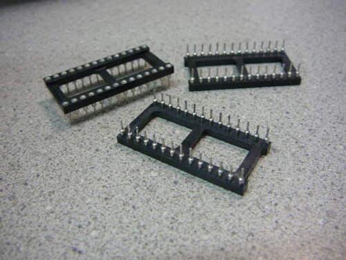 AUGAT 828-AG12D-ES IC Dip Socket 28-Pos TIN  ***NEW*** Qty.3