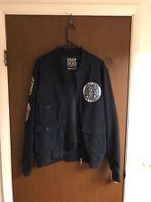Drop Dead Astronaut Bomber Jacket sz Large Supreme 100% Authentic