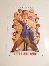 """Filmposter - """" Im Dutzend BILLIGER """" - Poster ( 84 x 60 ) gefaltet"""