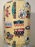 Bowling Ball Pins Lane 5 Gallon Water Cooler Bottle Cover Kitchen Decoration
