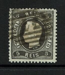 Portugal-SC-25-Used-Perf-12-5-Possible-Reprint-Lot-072317