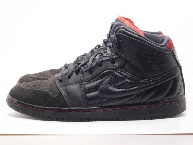 Nike Air Jordan 1 Retro 99 Bred Sneakers Black/Red 654140-001 Men's Size 10