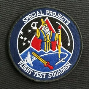 NASA USAF SPECIAL PROJECTS CIA TEST SQUADRON NSA MILITARY Patch