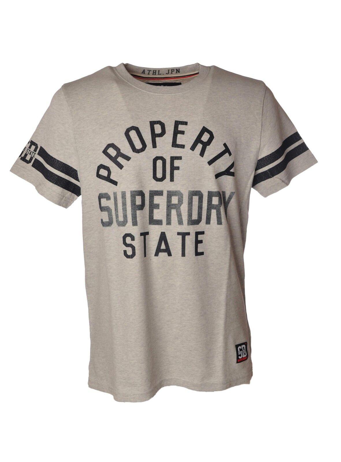 Superdry - Topwear-T-shirts -  Herren - Grigio - 3830403N184250