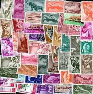 Uni Espagne Colonies - Spain Colonies Collections De 50 à 2000 Timbres Différents Remises Vente