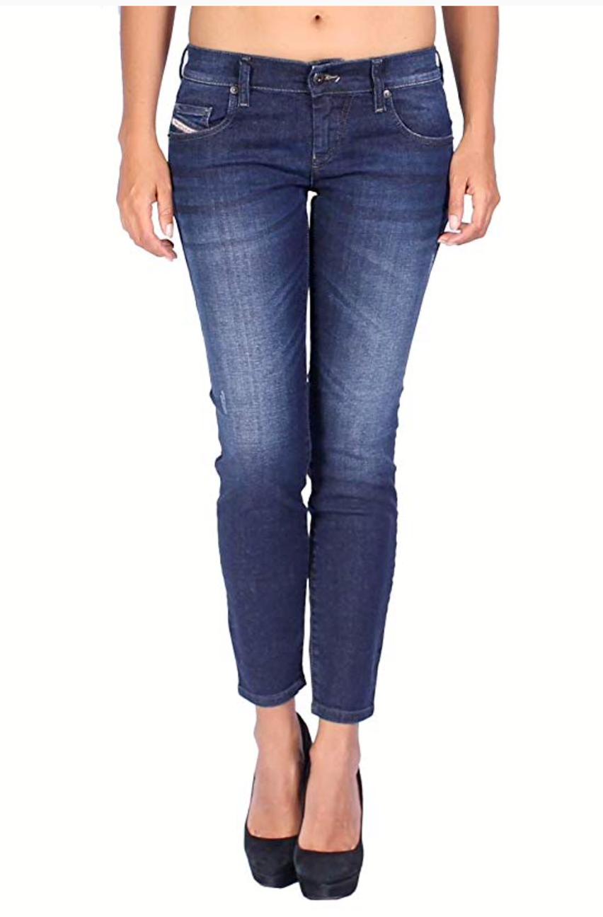 Jeans donna GRUPEE RJ738 Diesel slim skinny W29 x x x L32 NUOVO AUTENTICO bed9f1