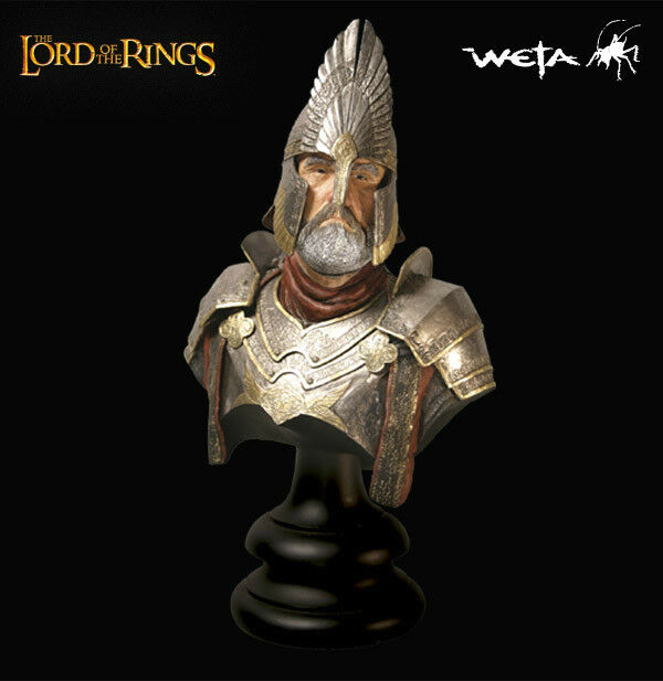 LORD OF THE RINGS ELENDIL busto Weta Sideshow