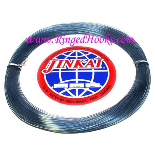 Coil 3.00 mm Dia. 920 lb BLUE Test Jinkai Monofiliment leader 50 yd