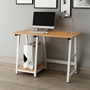Computer Desk with 2 Shelves Storage PC Table Home Office Laptop Desktop 2 Color
