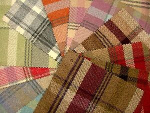 Elgin-Wool-Effect-Washable-Scottish-Tartan-Check-Plaid-Curtain-Upholstery-Fabric