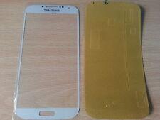 Cristal de Pantalla Tactil Blanca para Samsung Galaxy S4 SIV I9500 + Adhesivo