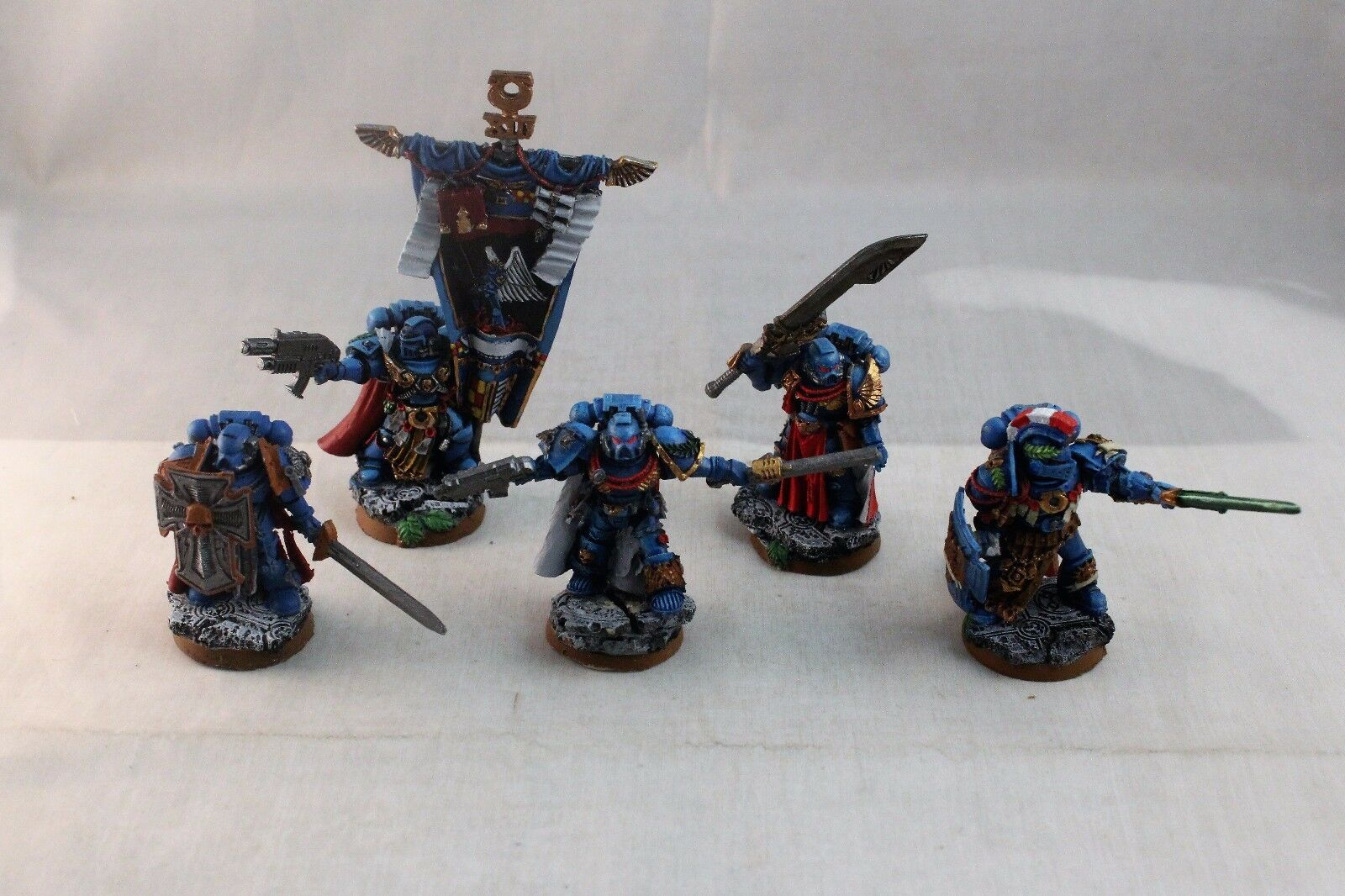 Warhammer Space Marine Ultramarines Honor Guard Command Squad