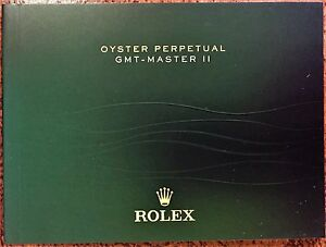 rolex gmt master ii booklet owners instruction manual book english rh ebay com rolex gmt master 2 manuale istruzioni rolex oyster perpetual date gmt master ii manual