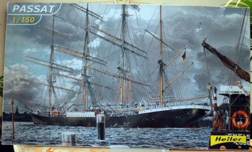 Stahlbark  Segelschiff 1:150 Heller 80888 wieder neu 2018 1911 Passat Viermast