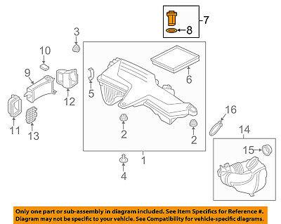 BMW OEM 12-16 328i-Mass Air Flow Sensor 13627602038