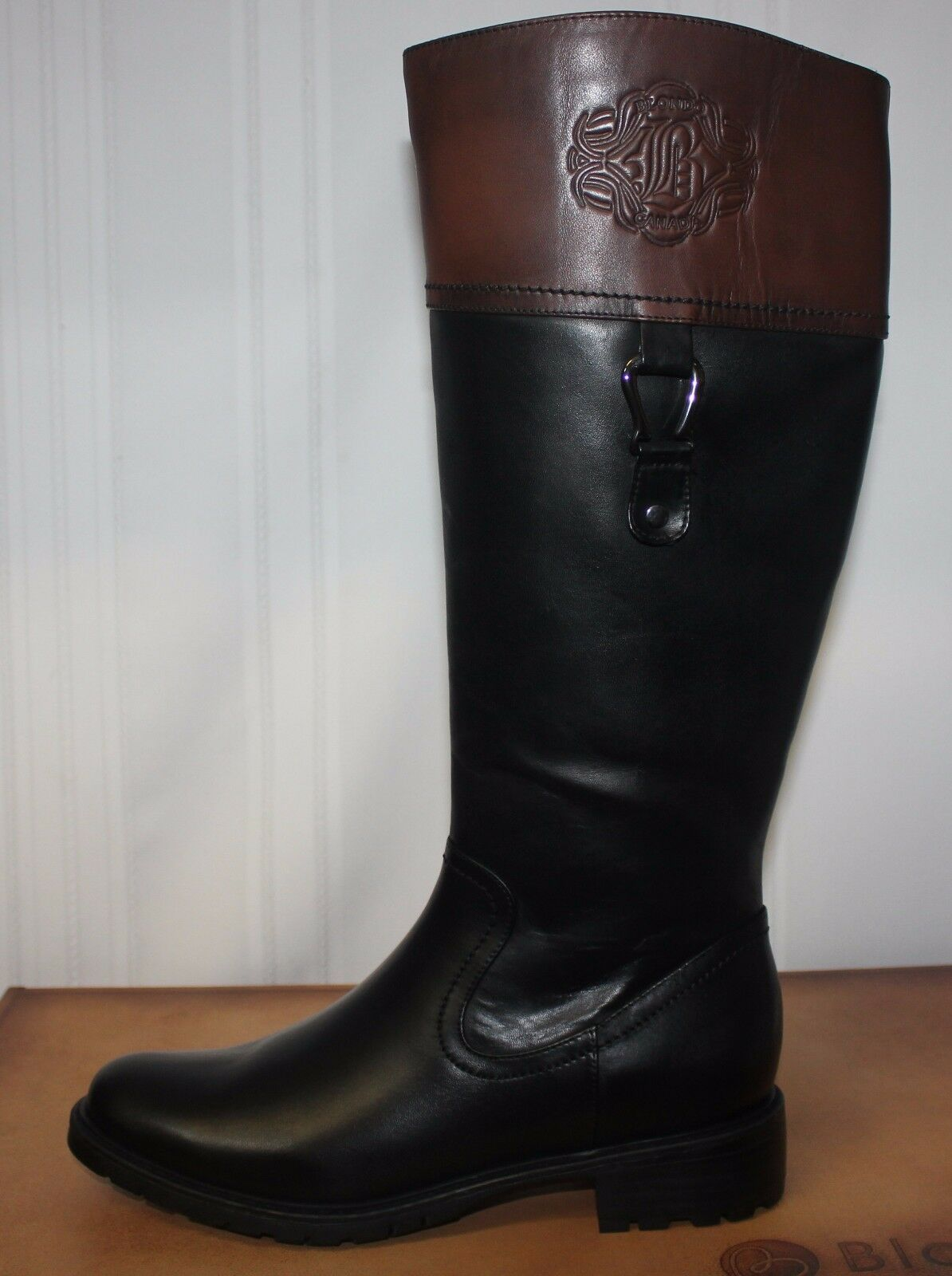 Blondo Women's Vida Boots Waterproof Black   Brown Leather Leather Leather New 3294ff