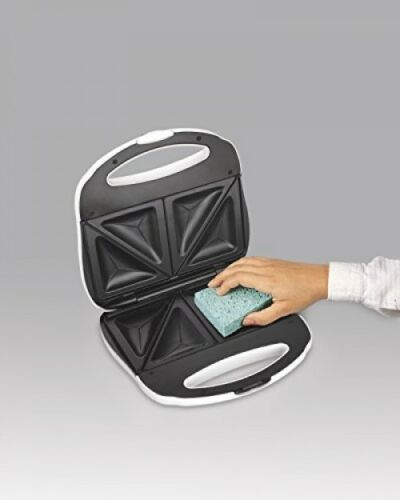 Sandwich Toaster Nonstick Plates Maker Grilled Cheese Pizza Pockets Compact