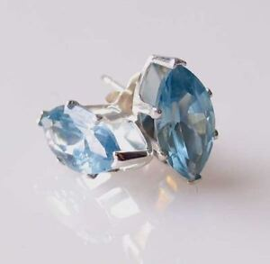 March-Marquise-10x5mm-Created-Aquamarine-Sterling-Silver-Stud-Earrings-10148C