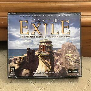 Myst III: Exile (Windows/Mac, 2001) V 1.2