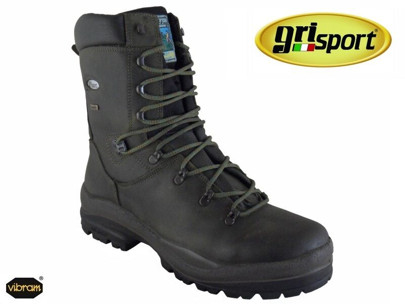 greyPORT KEEPER BOOTS HUNTING AND SHOOTING