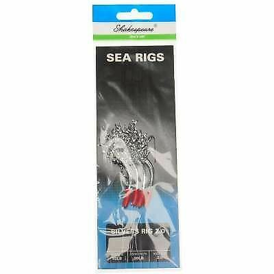 SHAKESPEARE Mer Rigs sel XT Silvers Lure 2//0