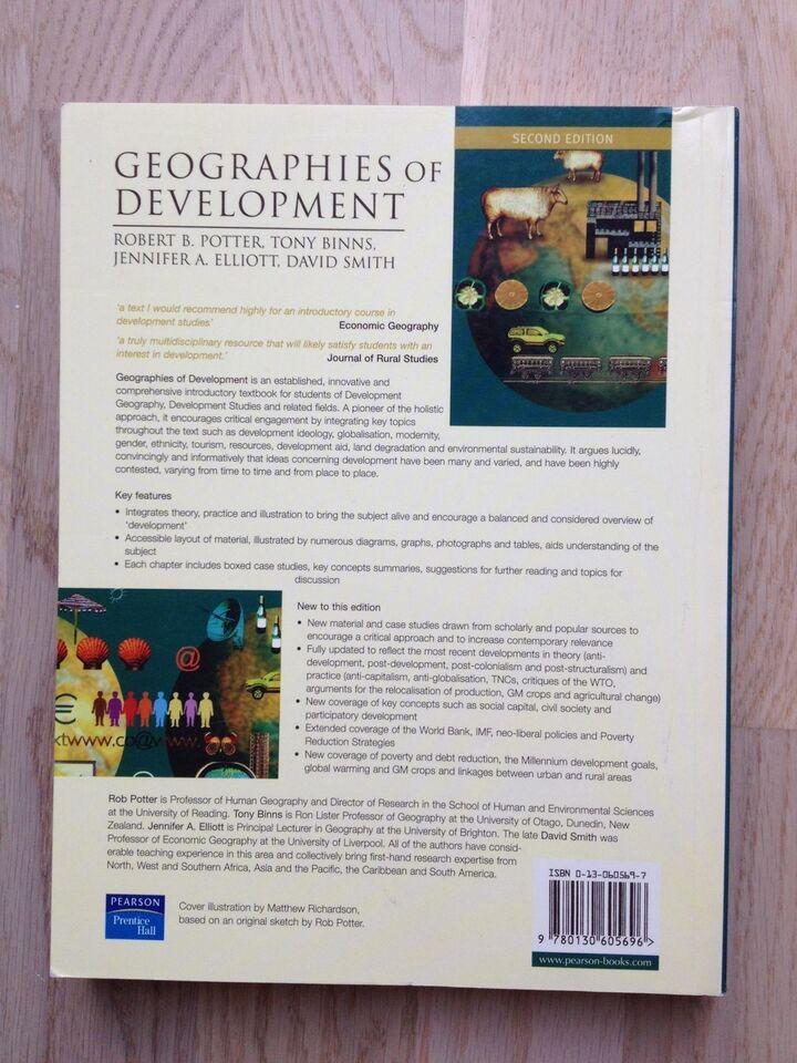 Geographies of Development, Robert B. Potter, Tony Binns