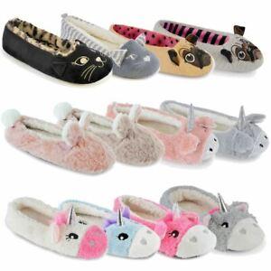 Ladies-Ballerina-Slippers-Ladies-Ballet-Novelty-Knitted-Slippers-Non-Slip-Socks
