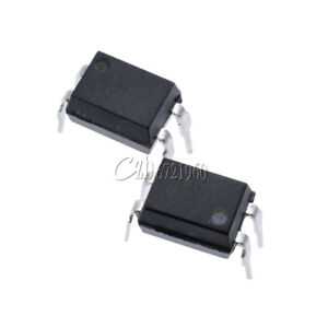 10Pcs PC123 Triac Driver Optoisolator Photocoupler Optocoupler DIP-4 fv