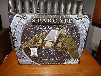 BEST-LOCK, STARGATE SG-1, DEATHGLIDER KIT, OVER 100 PIECES, NIB, 2013