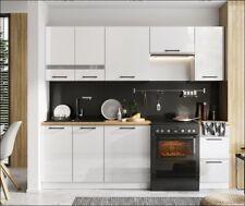 Muebles de Cocina Completa en Color Blanco 180 Y 240 Cms Ref-74
