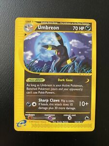 Umbreon-32-144-Rare-Skyridge-2003-Near-Mint-Pokemon-Card