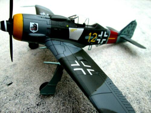 Fw 190 a 8 Focke Wulf salvajes cerda jg 300 1 ww2 1945 metal yakair//Aircraft