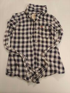 Hollister-California-Long-sleeve-Button-down-Size-XS-100-Cotton