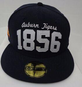 Auburn Tigers 1856 Men s New Era 59FIFTY 7 1 2 Cap Hat  b788fa770090
