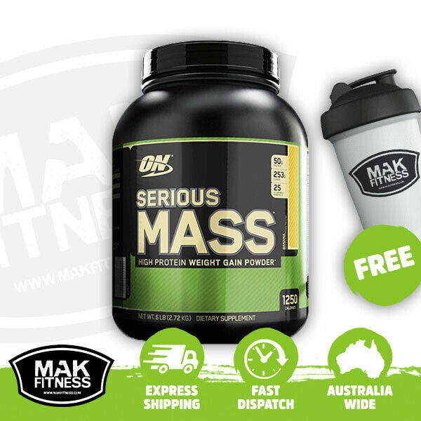 Optimum Nutrition Serious Mass Protein  | FREE Shaker & Shipping