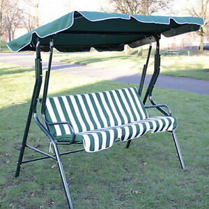 image is loading 3 seater garden hammock swing seat outdoor bench  3 seater garden hammock swing seat outdoor bench chair patio swing      rh   ebay