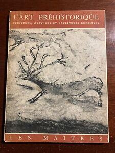 L'Art Prehistorique Peintures, Gravures et Sculptures Rupestres 1951 Book   eBay