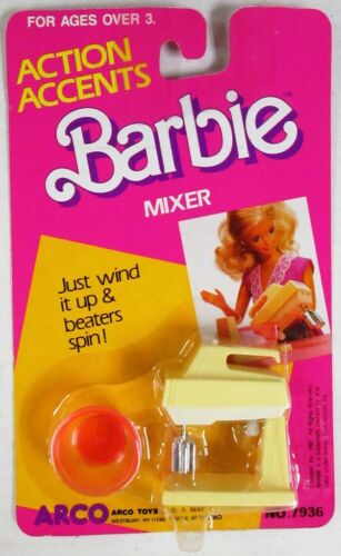 NEW Barbie Action Accents Mixer
