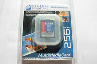1pcs 256mb Viking Mmc Multimedia Memory Card For Palm Pda Older Sd Cameras