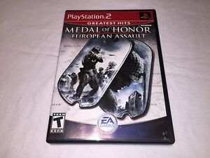 Medal-of-Honor-European-Assault-Playstation-PS2-GH-Game-Complete-Nr-Mint