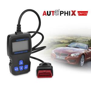 Hand-held Scanner Diagnostic Code Reader OM123 CAN OBD2 EOBD Auto Car Scan Tool