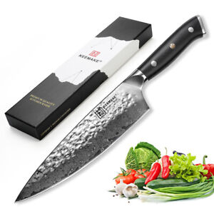 Japanese Damascus 8 inch Chef's Knife VG10 Steel Meat Slicing Kitchen Chef Knife