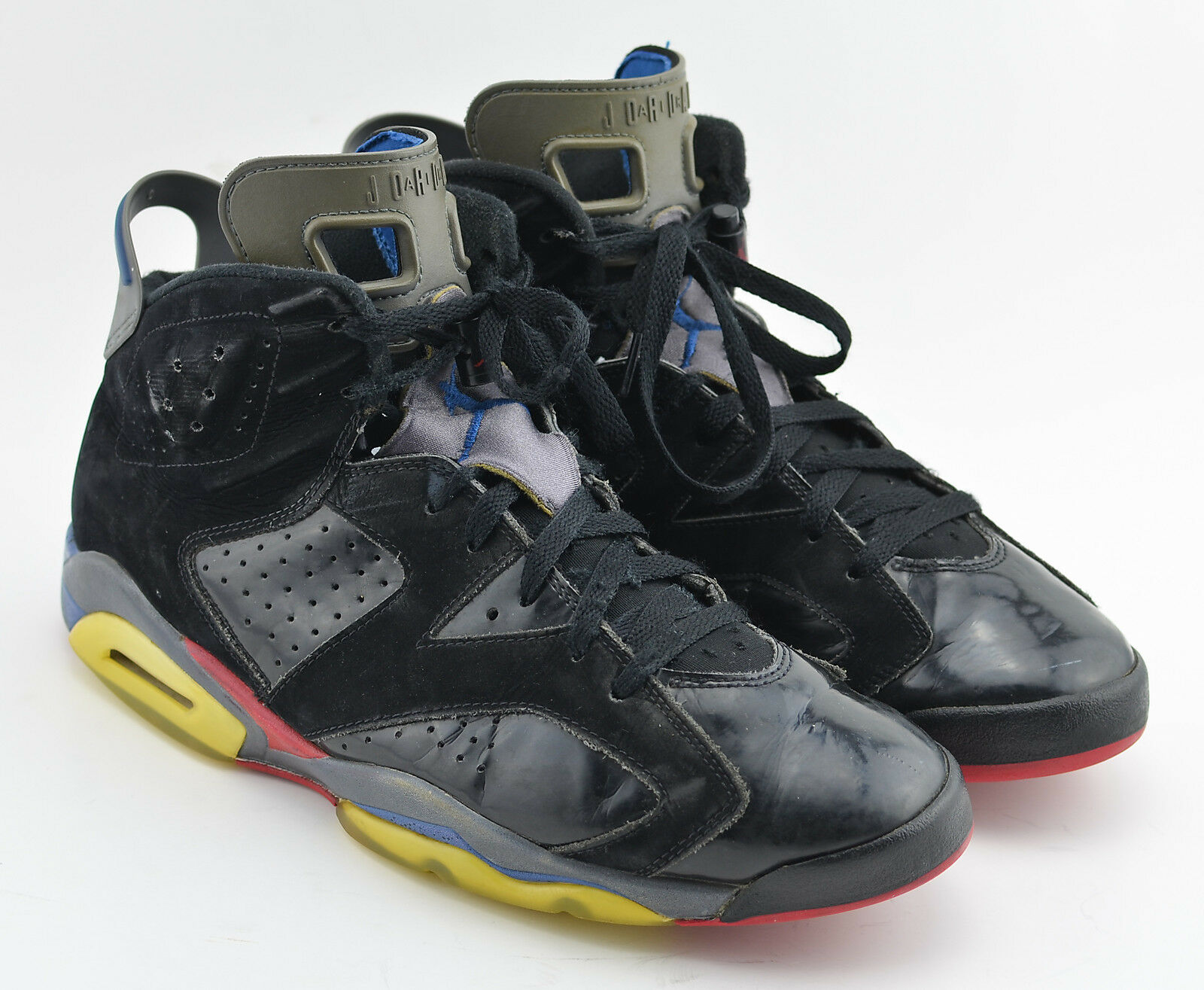 Gentleman/Lady MENS AIR JORDAN 6 VI RETRO PISTONS BASKETBALL SHOES 384664 SIZE 11.5 BLACK 384664 SHOES 001 Complete specification Stylish and charming a lot of varieties HA57310 db4bfd